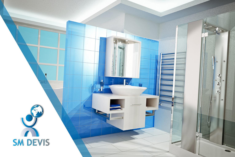 Devis salle de bain maison moderne for Devis salle bain