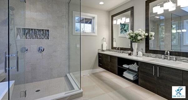 SM DEVIS Installation salle de bains complète
