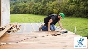 SM DEVS Pose d'une terrasse en bois3