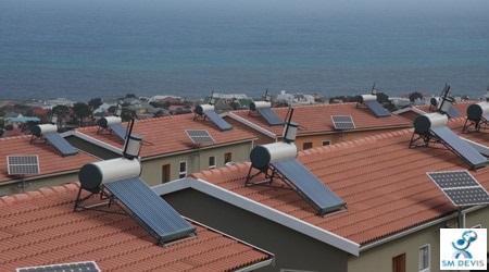 sm devis Chauffage solaire