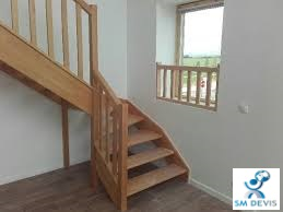 sm devis Escalier bois