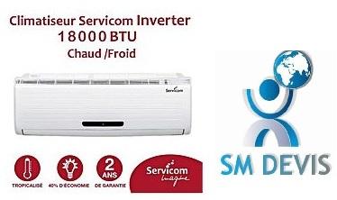 Entreprise Climatiseur SERVICOM en Tunisie SM Devis