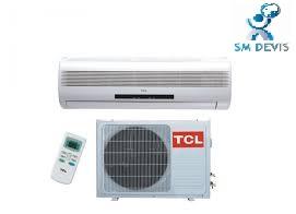 Entreprise climatiseur TCL  en Tunisie SM Devis