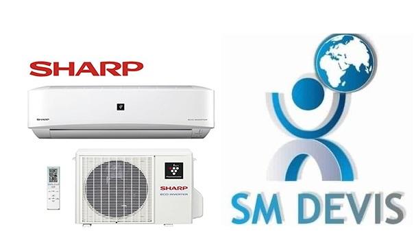 Entreprise climatiseur SHARP en Tunisie SM Devis