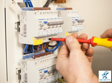 sm devis Installation électrique (neuf et rénovation)