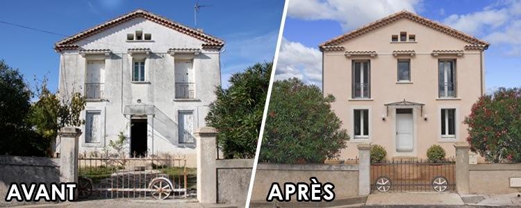 Devis Rénovation Façade  Abbeville → Prix Ravalement Façadier