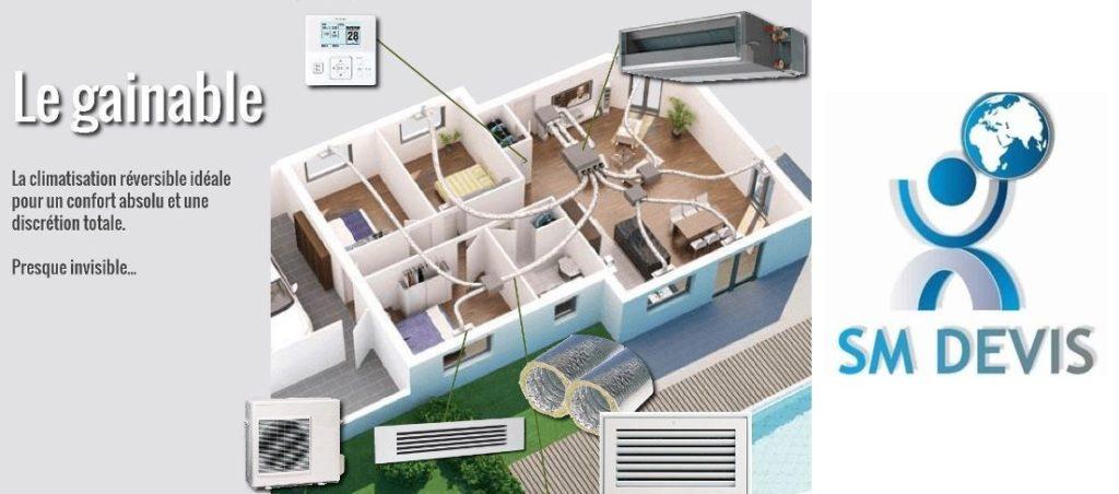 Entreprise Climatiseur gainable Tunis SM DEVIS