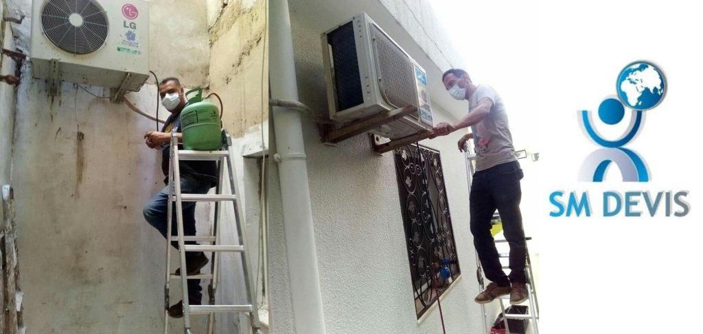Entretien de climatiseur  Tunisie sm devis