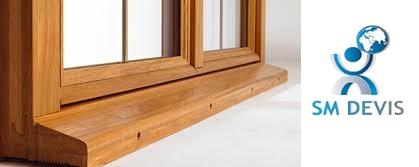 Coût d'une fenêtre en bois en Tunisie sm devis