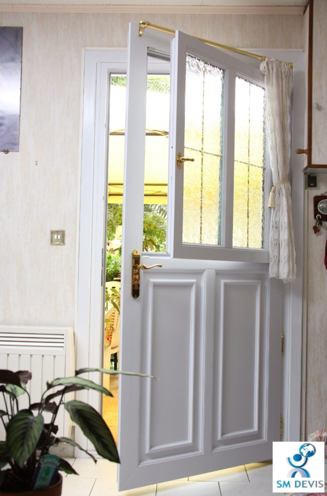 Coût installation porte d'entrée en PVC en Tunisie sm devis