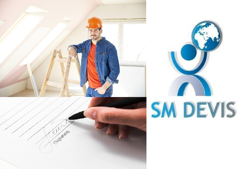 Trouver des chantiers en Tunisie avec SM Devis : Inscription des professionnels